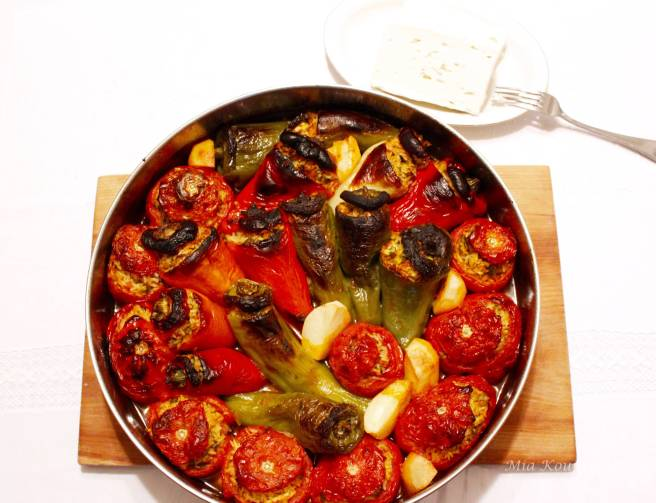 Vegan Yemista, Stuffed Vegetables