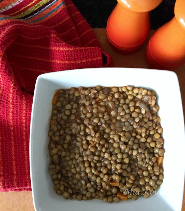 Greek Lentil soup, Fakes