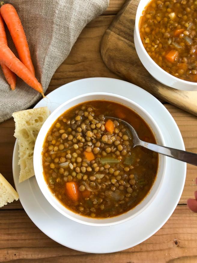 Fakes (Lentil soup) - (Φακές)