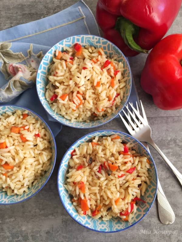 Rice taking the guesswork out of greek cookingone cup at a time rice with vegetables quick easy and delicious rice recipe ccuart Image collections