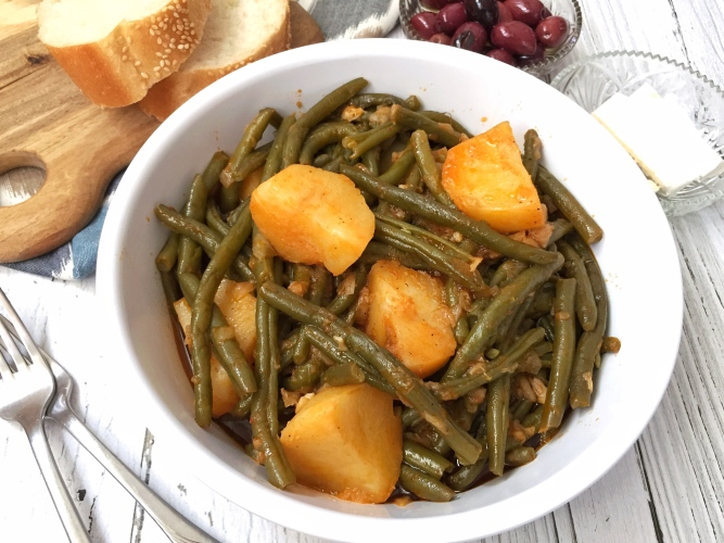 Green Beans with Potatoes