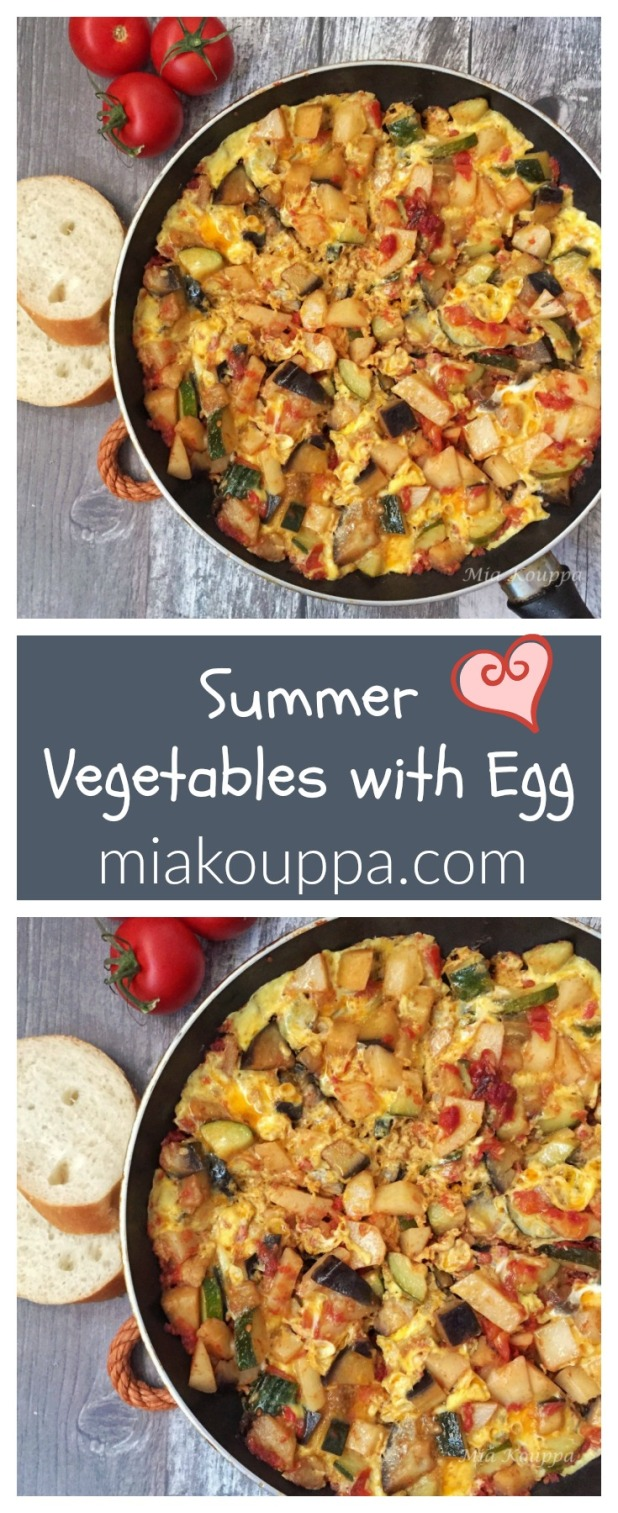 Tsik Tsik Summer Vegetables with Egg