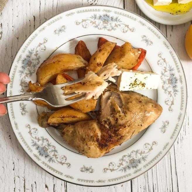 Broiled chicken (Κότα ψητή)