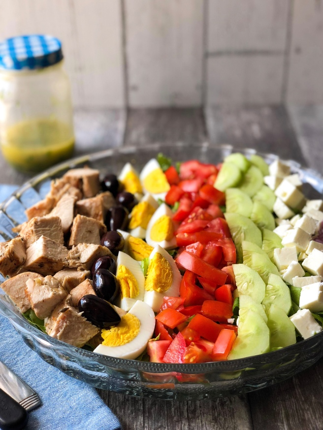 Greek-style Cobb salad